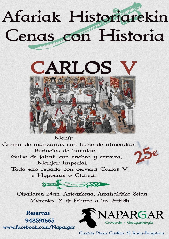 Cartel Carlos V